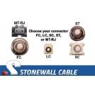 Singlemode 9/125 2-Strand Fiber Cable