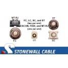 OM3 Multimode 50/125 10 Gig Duplex Fiber Cable
