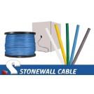 Cat5e 4 Pair Plenum Solid Bulk Cable