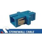 SC to SC Simplex Fiber Optic Coupler