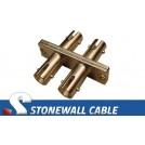 ST to ST Multimode Duplex Fiber Optic Coupler