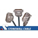 RS-366 Encryption Straight-thru Cable DB25MM