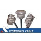 RS-366 Encryption Straight-thru Cable DB25MF