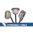 RS-366 Encryption Straight-thru Cable DB25FF
