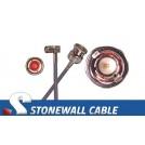 735A Coax Cable SMB Right Angle Plug / BNC Plug