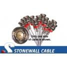735A Coax Cable 12 x BNC Plug / 12 x BNC Plug