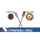 RG179 Coax Cable 1.0/2.3 Plug / BNC Jack