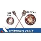 RG179 Cable SMB Plug / BNC Plug