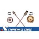 RG179 Cable SMB Jack / BNC Jack