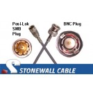 735A Cable SMB Plug / BNC Plug