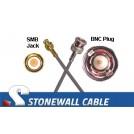 735A Coax Cable SMB Jack / BNC Plug