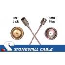 735A Coax Mini-WECO Plug / BNC Plug