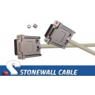 Straight-thru HD26MF Cable