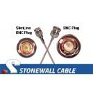 RG179 Cable SlimLine BNC Plug / BNC Plug
