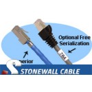Cat5e Shielded Solid Plenum Patch Cable