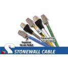 Cat5e Solid Plenum Patch Cable