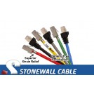 Cat5e Shielded Solid Crossover Patch Cable