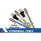 Cat5e Solid Crossover Plenum Patch Cable