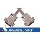 T1 DB15MM Straight-thru Cable