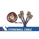 RG59 BNC / BNC 75 Ohm Dual Coaxial Cable