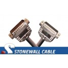 Custom Straight-thru Cable DB25MF