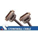 Custom Straight-thru Cable DB25MM