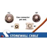 OM2 Multimode 50/125 Simplex Fiber Cable
