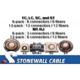 Singlemode 8.3/125 Fiber Pigtail Splicing Kit