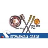 735A Coax Cable BNC Plug / Mini-SMB Plug / Mini-SMB Plug