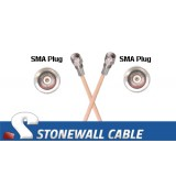 RG142B/U Coax Cable SMA Plug / SMA Plug