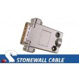 DB15M X.21 Loopback Plug