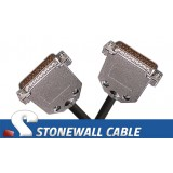 RS-530 Cable DB25MM DCE Crossover