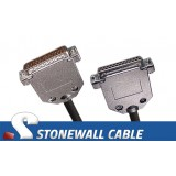 RS-530 Cable DB25MF DCE Crossover