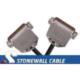 RS-530 Cable DB25MM DTE Crossover