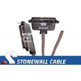 RJ21 Cable - Category 3 Telco 50 Female / Blunt