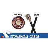RG59 Coax Cable BNC Plug / Blunt