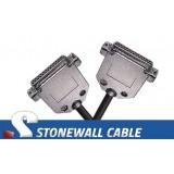 RS-530 Cable DB25FF Straight-thru