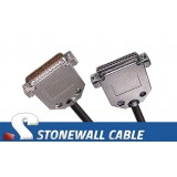 RS-530 Cable DB25MF Straight-thru