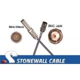 735A Coax Cable Mini-WECO / BNC Jack