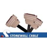 """Cisco HSSI Crossover """"Y"""" Cable"""