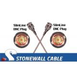 RG179 75 Ohm Coaxial Cable Mini-BNC Plug to Mini-BNC Plug