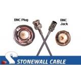 735A Coax Cable BNC Plug / BNC Jack
