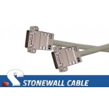 X.21 Straight-thru Cable Male / Male